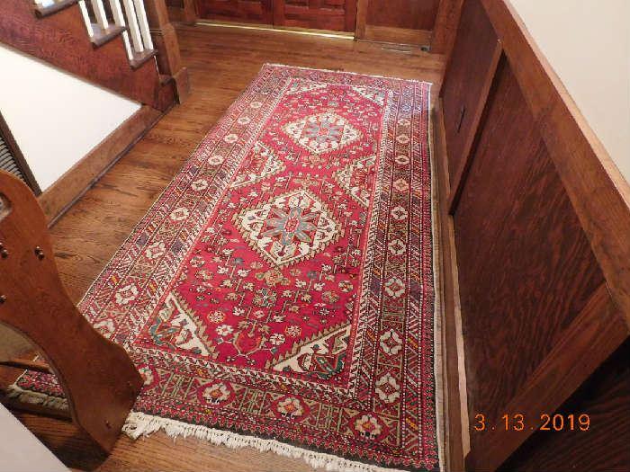 Beautiful Oriental rug.