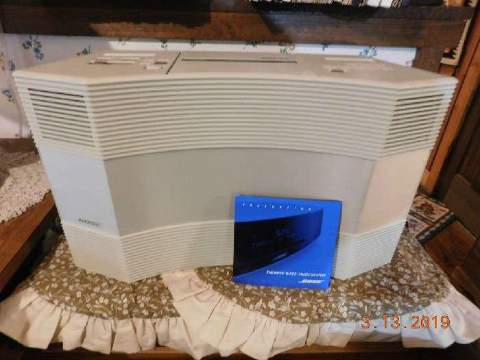 Bose Wave CD player & radio