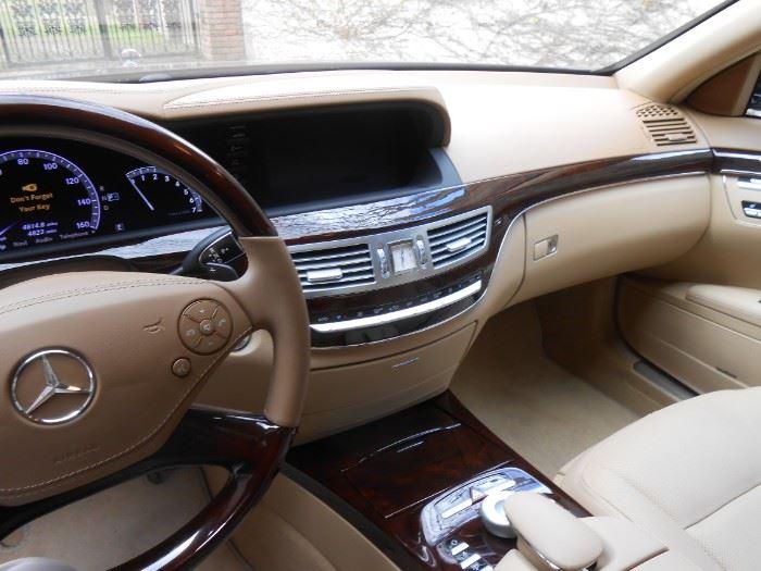 2013 Mercedes Benz S550   Mileage:  4,814                Best Offer Over $30,000