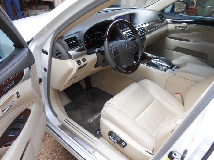 2016 Lexus LS460;  Mileage:  6,791                                          Best Offer Over $40,000