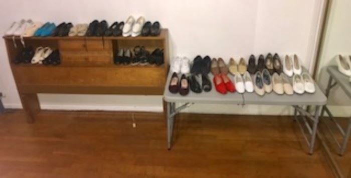 Ladies shoes - flats, low heels