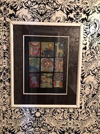 #1 Judith Bledsoe Lithograph Showroom