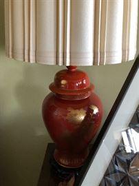 #1 Orange Lamp
