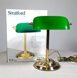 New Bankers Lamp