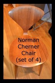 Authentic Mid Century Norman Cherner Plycraft chairs