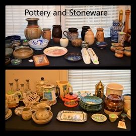 More pottery and stoneware