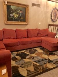Sectional couch - super large and comfy