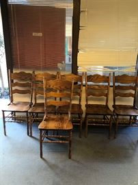 Dining style chairs - wood
