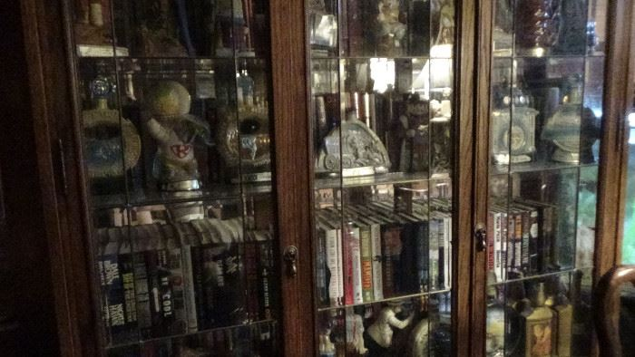 9000 books and jim beam decantor collection