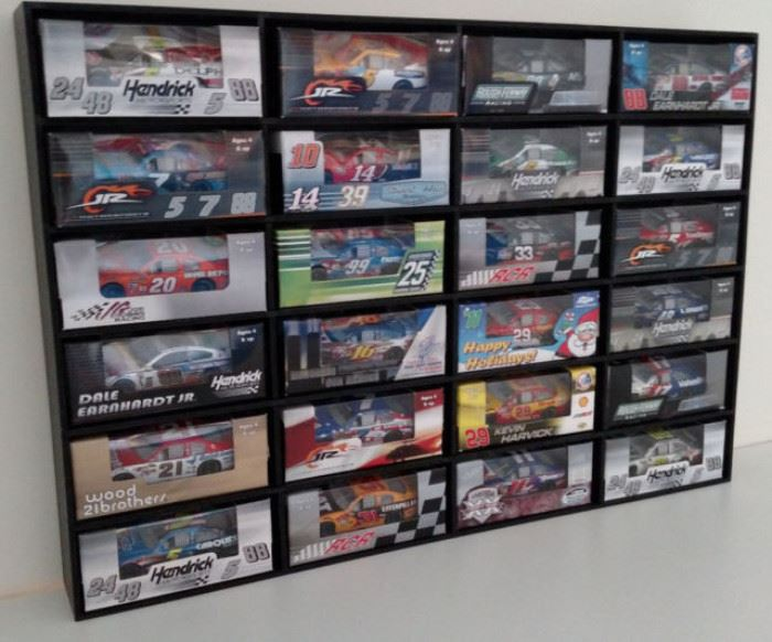 nascar and auto collection all 1:24 size