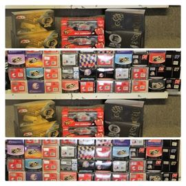 nascar and auto collection all 1:24 size and 50 piece massive size haulers collection 1st few years of nascar