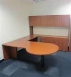 Knoll Executive U Shape Desk