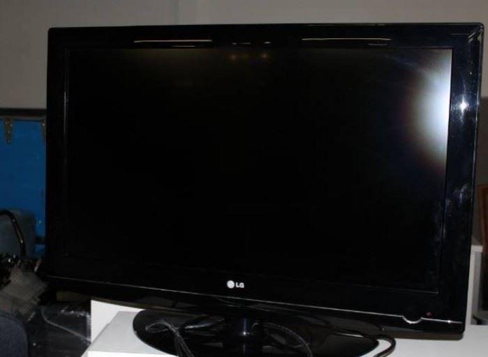 LG 37 Flat Screen HDTV.