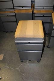 Modular Wheeled Mobile 2Drawer File Cabinet Pedes ...