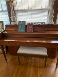 Baldwin Acrosonic spinet piano  (available prior to sale) see the sales listing of items where phone # are posted