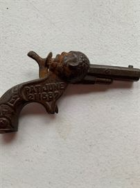 Old cap gun (Sambo) pat. June 21, 1887