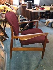 Finn Juhl MCM Danish Modern chair