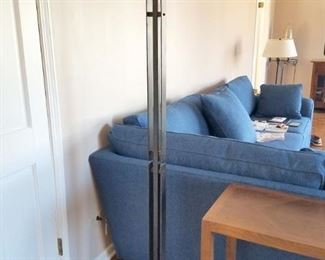 Floor lamp. (Blue sofa in background is not for sale)