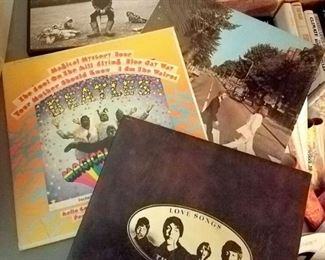 Beatles records and George Harrison box set