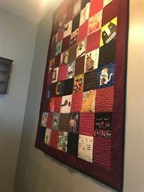 Hallmark artist made quilt