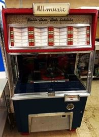 Vintage AMI Juke Box, Model F-80 in great working condition!