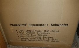 Definitive Technology PowerField SuperCube I Subwoofer