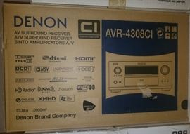 Denon AVR-4308CI AV Surround Receiver