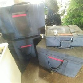 Lot of 4 Camera Cases
