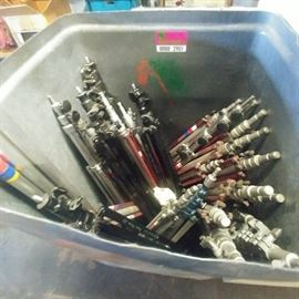 Lot of Assorted Stationary Tripods