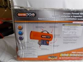 Dynaglo pro forced air heater