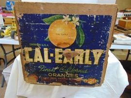 CALEARLY ORANGE CRATE