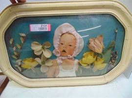 ANTIQUE 3 D PICTURE