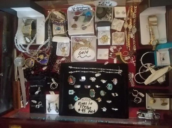 Some gold and sterling silver ALL 50% OFF