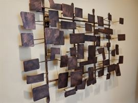 WALL HANGING METAL ART SCULPTURE