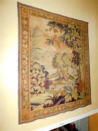 Early 19th Century true French Aubusson Tapestry, excellent condition!