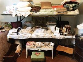 Vintage and Antique Linens/Textiles