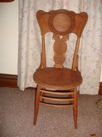 Oak Pressed Wood Chair