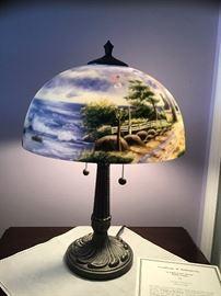 Thomas Kinkade Lamp