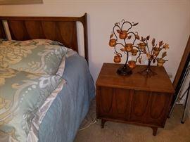 Broyhill Brasillia bed and nightstand