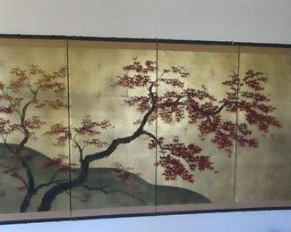 Asian panel art