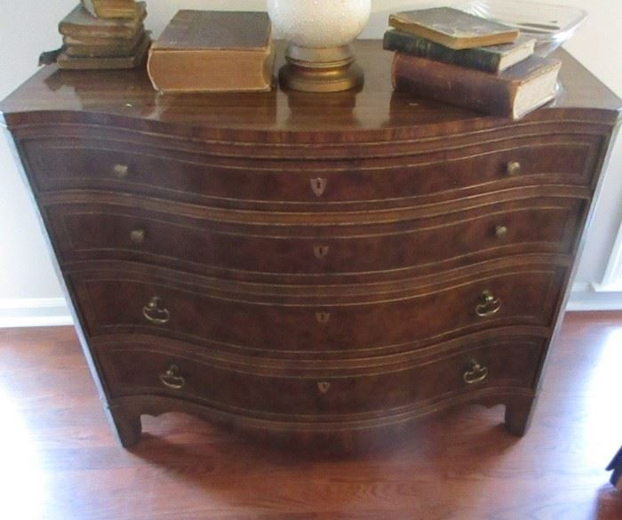 beautiful 4 drawer chest antique books
