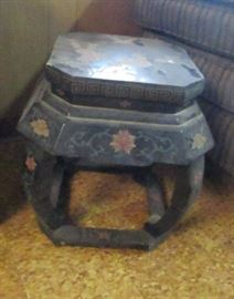 Asian motif table
