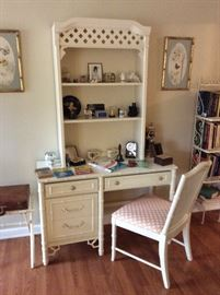 Faux Bamboo desk by Thomasville