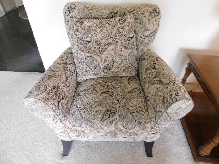 #4 Pair of upholstered chairs $200.00 for both