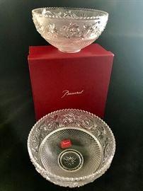 Lalique Arabesque bowls