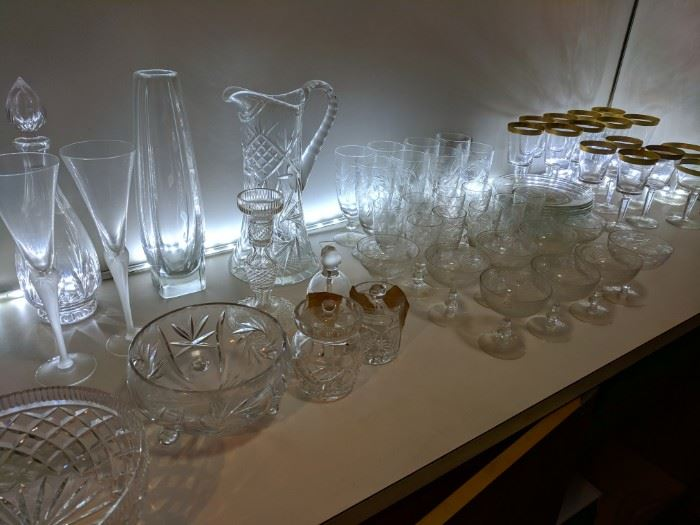 Lovely Glassware