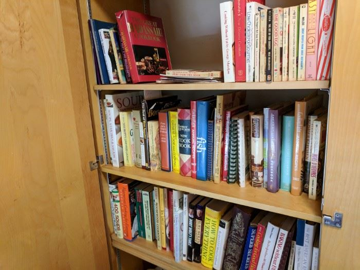 Cookbooks a plenty