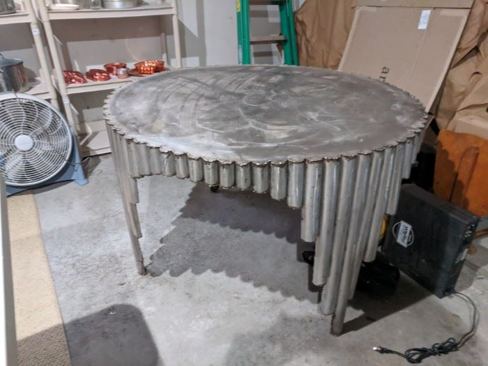 Custom Welded Steel Table