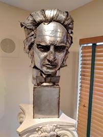 Brutalist Marian Owczarski Bust