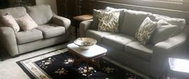 Matching Love Seat & Couch - 1 yr old